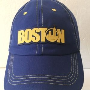Other - Blue Boston Strong Patch Baseball Cap Hat NWT